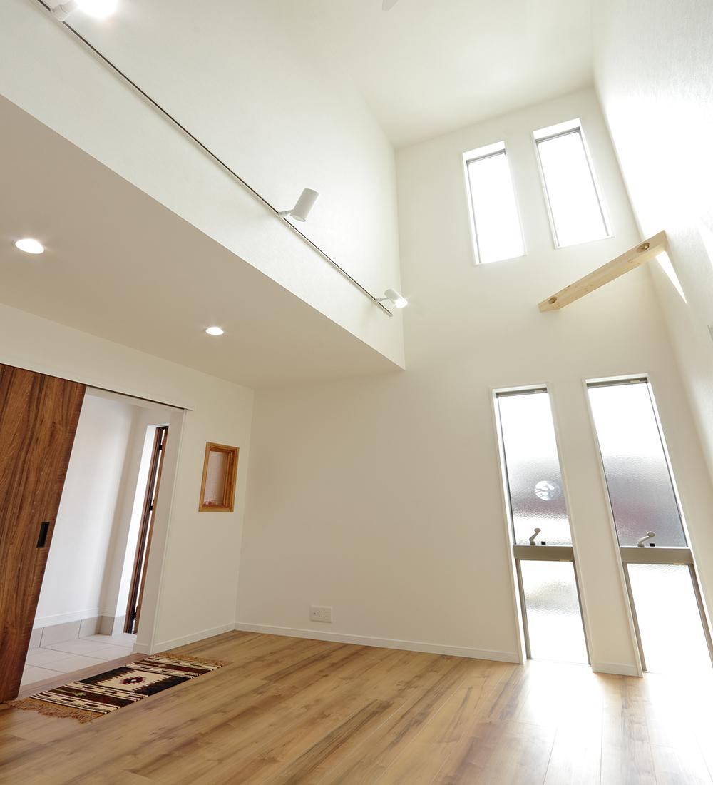 天井が高い空間