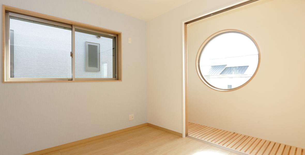 2階の室内干しスペース