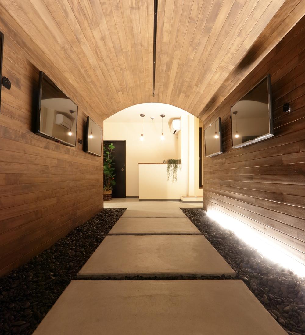 トンネルカフェのトンネル