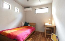 珪藻土と無垢材を使った心地の良い部屋
