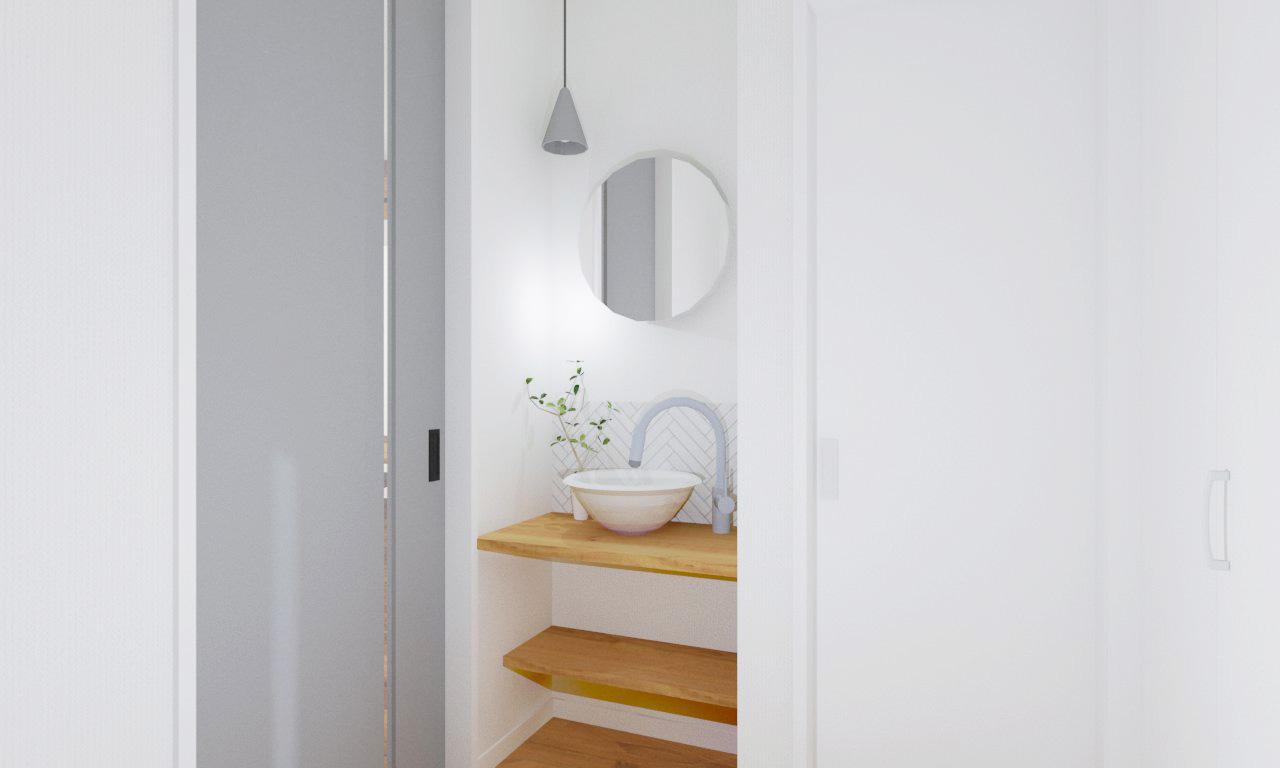 玄関_手洗い器