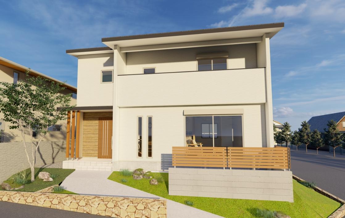光の丘に建つ、木漏れ日が差す家 ~耐震等級3の安心構造~   アトリエ・クラッセ 一級建築士事務所