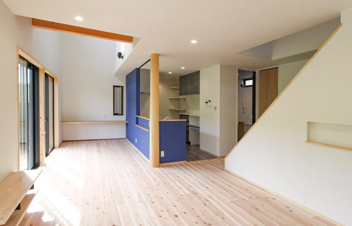 天然木の暖かみを感じられる家   クラッセ住宅販売株式会社